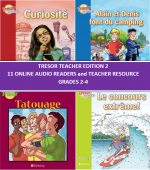 Trésor Teacher Edition 2 Online Audio Readers